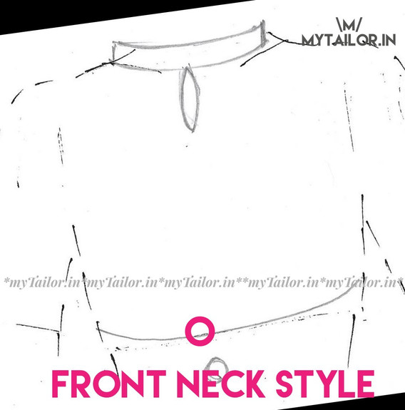 Front Neck Style O