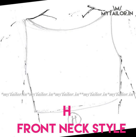 Front Neck Style H