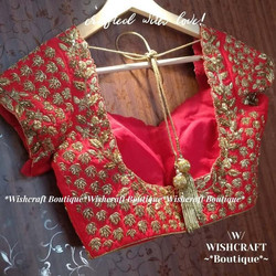 red-blouse-choli-design-342-back