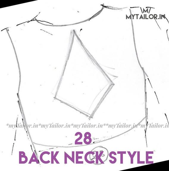 Back Neck Style 28