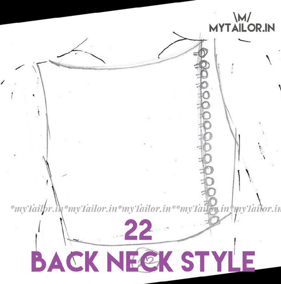 Back Neck Style 22