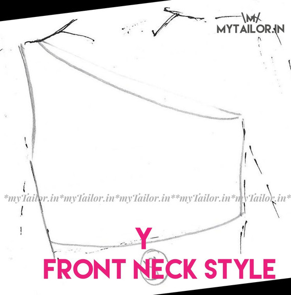 Front Neck Style Y