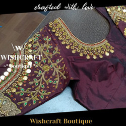 bridal blouse with maggam work - blouse