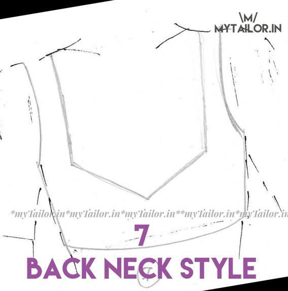 Back Neck Style 7