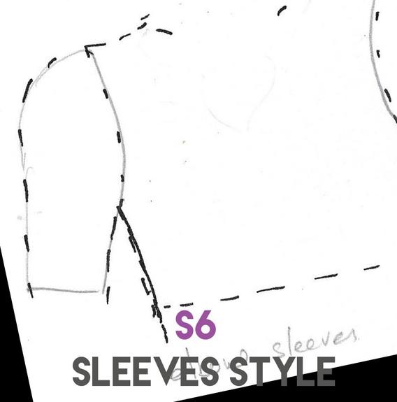 Sleeves Style S6 Elbow length sleeves.jp