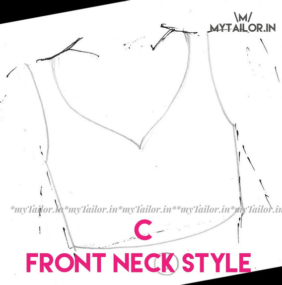 Front Neck Style C