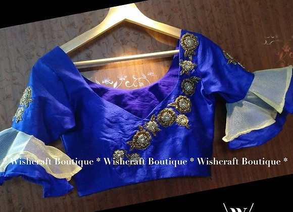New Look Partywear Saree Blouse - Indian Blouse 312