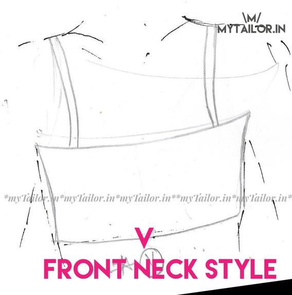Front Neck Style V