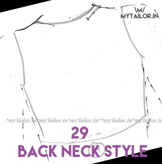 Back Neck Style 29