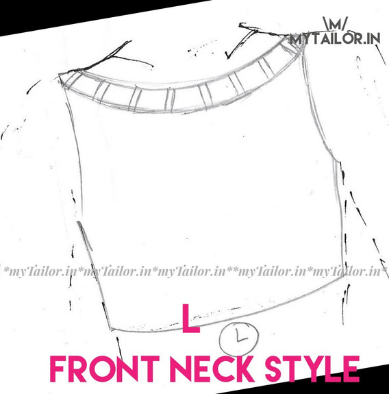 Front Neck Style L