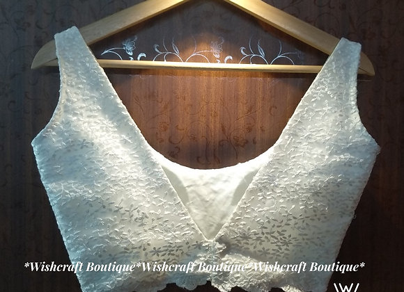 Super Trendy Sleeveless Blouse - limited edition #350 Wishcraft Boutique