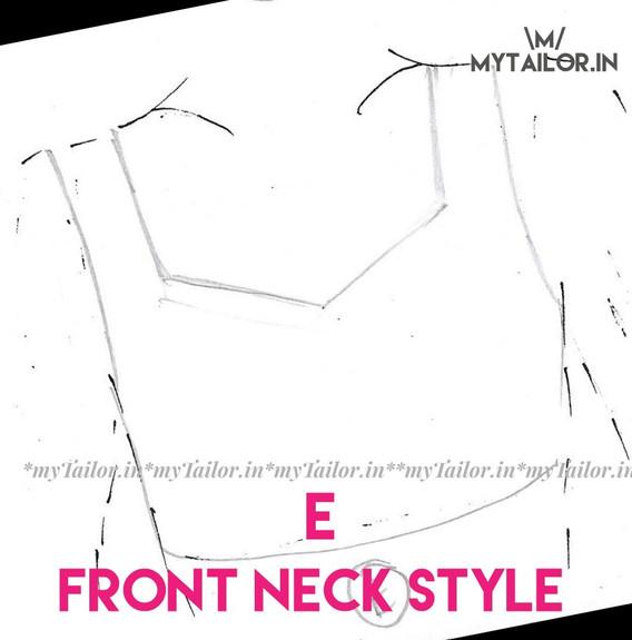 Front Neck Style E