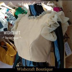trendy partywear blouse - ruffle blouse