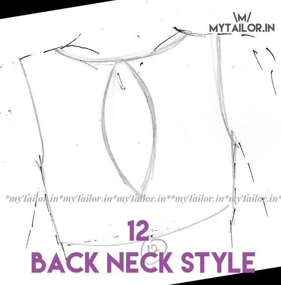 Back Neck Style 12