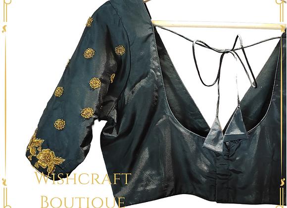 Designer Blouse with Stylish Maggam work * Blouse Design 410