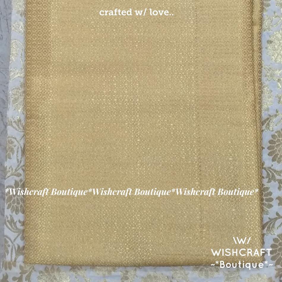 Golden Brocade Fabric 1 - wishcraft bout