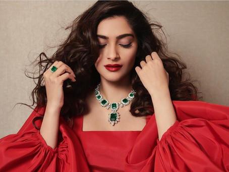 Sonam Kapoor Ahuja - Blouse Styles