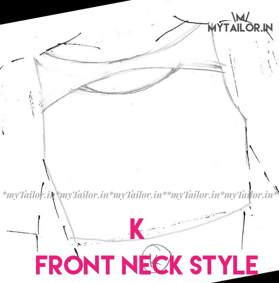 Front Neck Style K