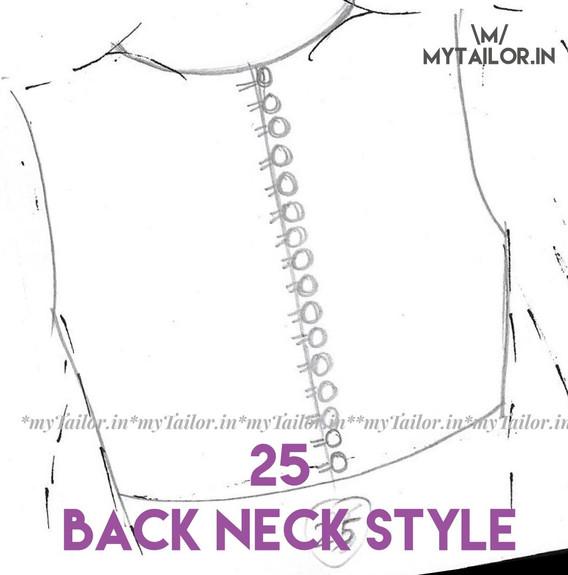 Back Neck Style 25