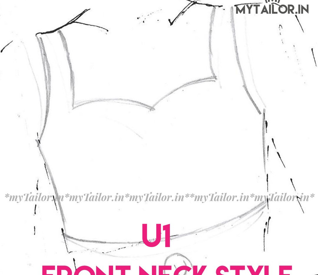 Front Neck Style U