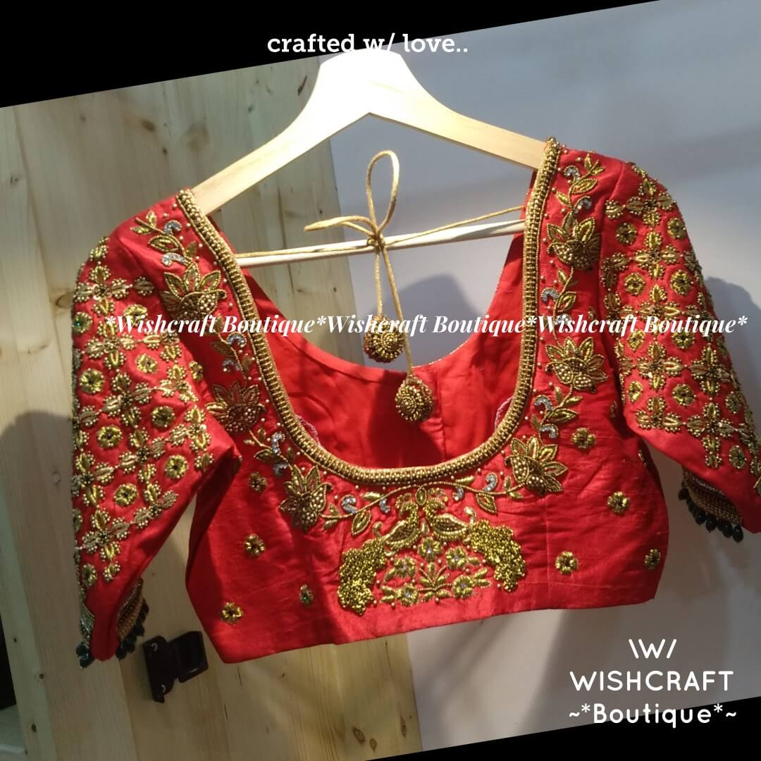 red-bridal-blouse-with-maggam-work-desig
