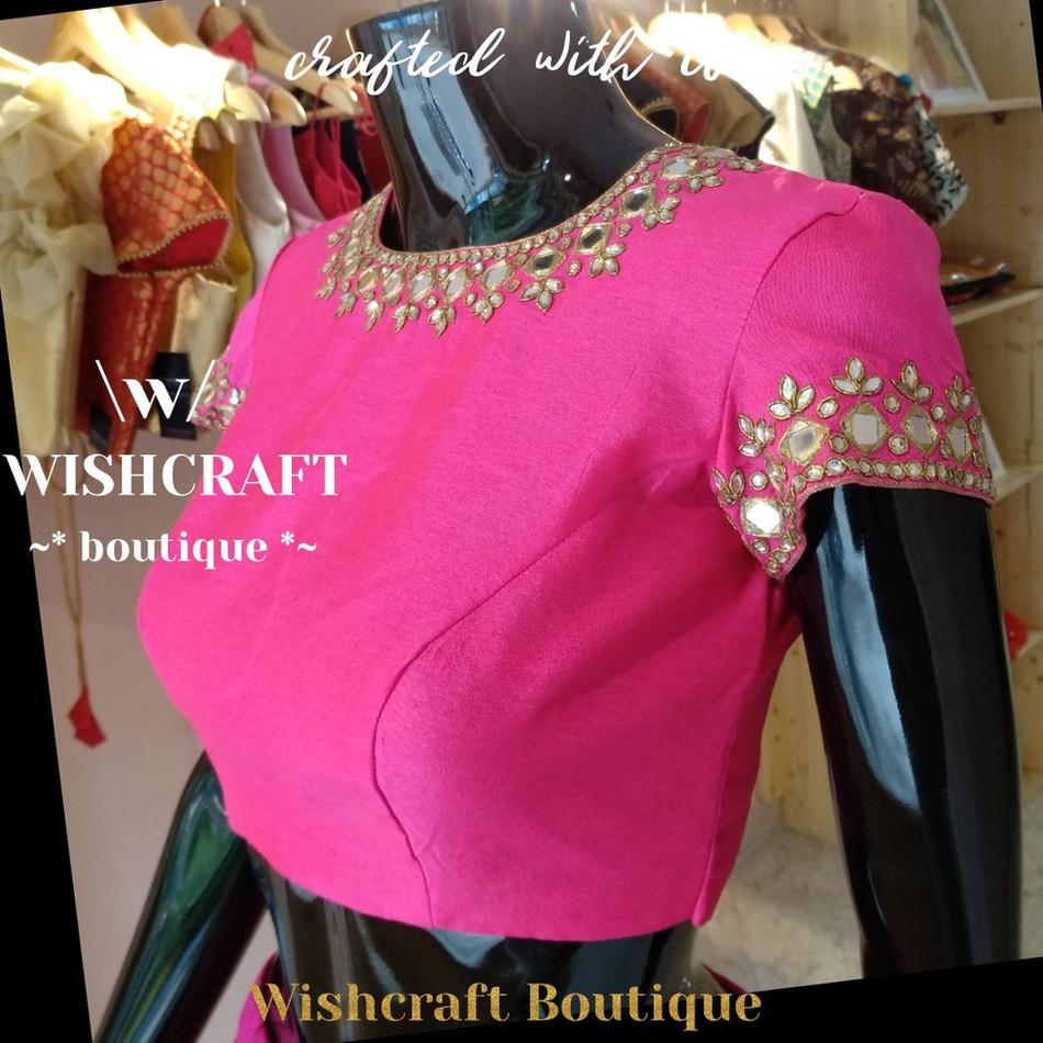 169 latest mirror work blouse design mytailor