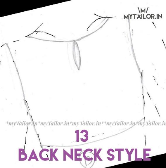 Back Neck Style 13