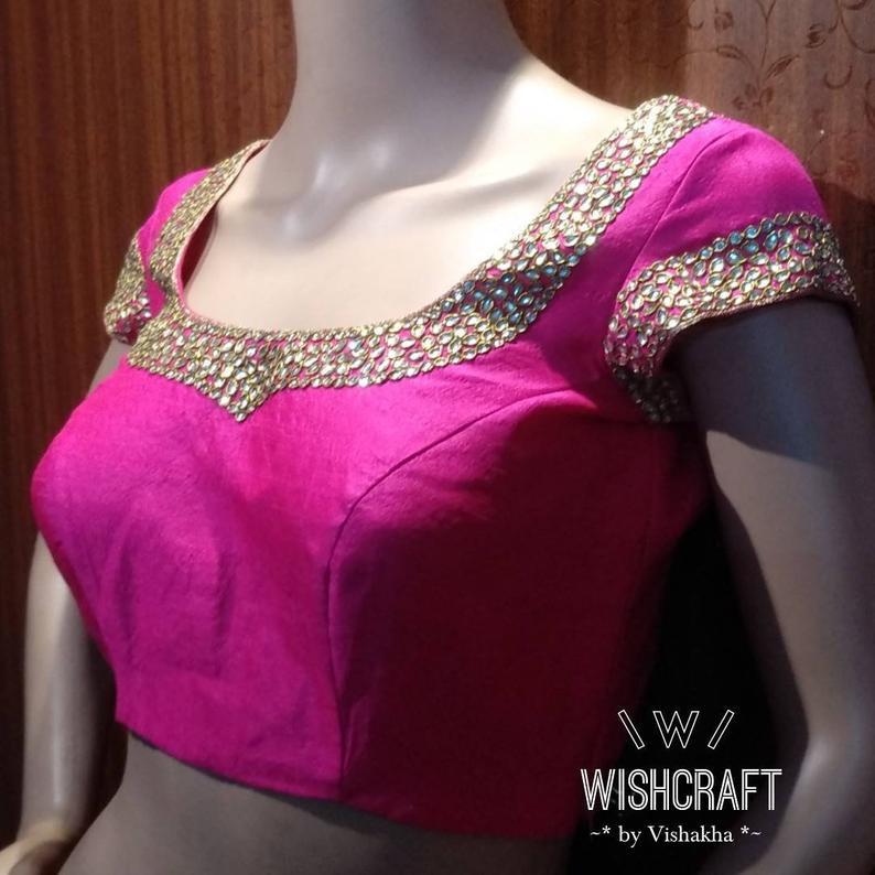 302 kundan work blouse in pink front.jpg