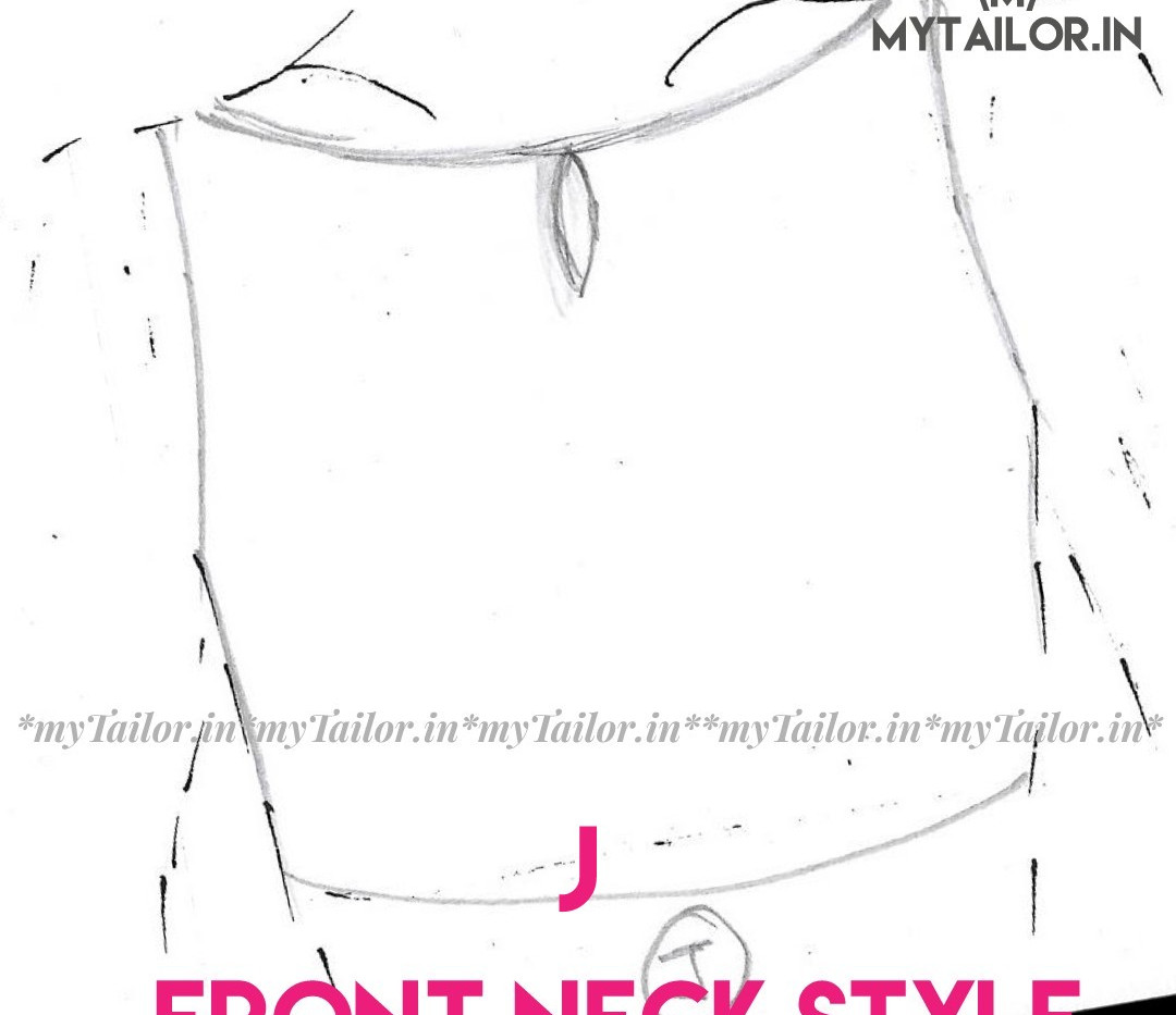 Front Neck Style J