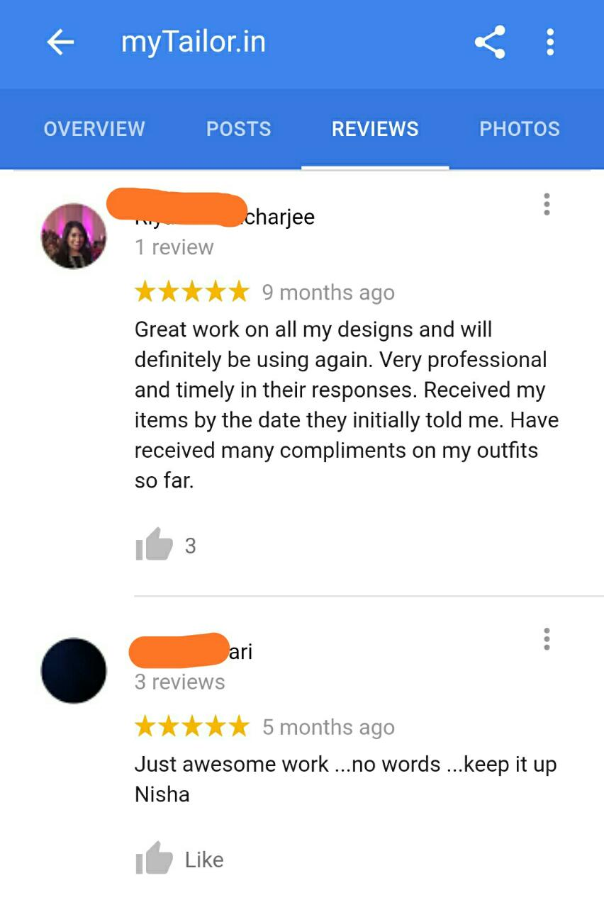 mytailor.in reviews 2