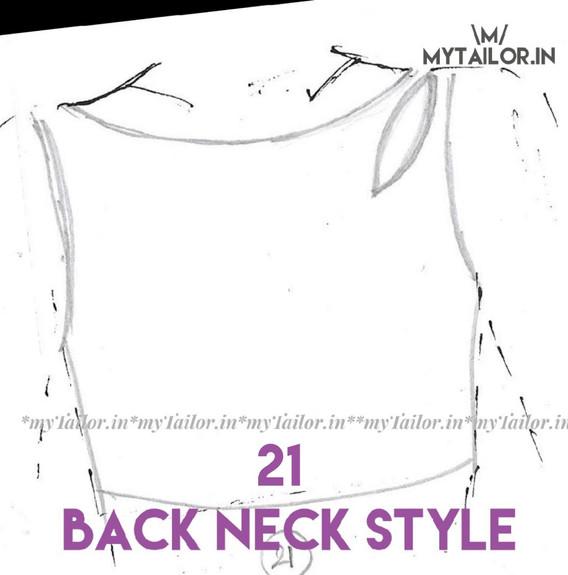 Back Neck Style 21