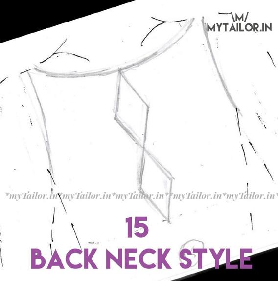 Back Neck Style 15