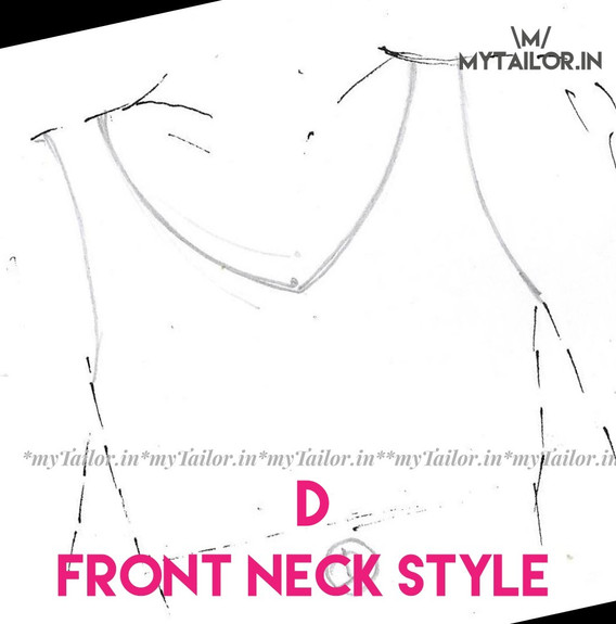 Front Neck Style D