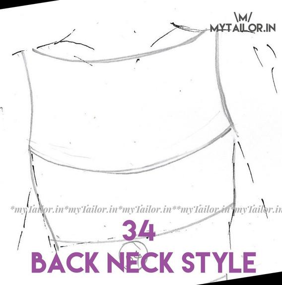 Back Neck Style 34