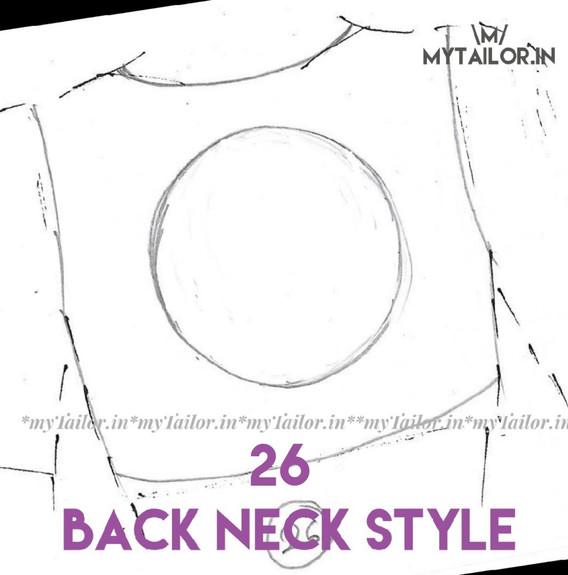 Back Neck Style 26