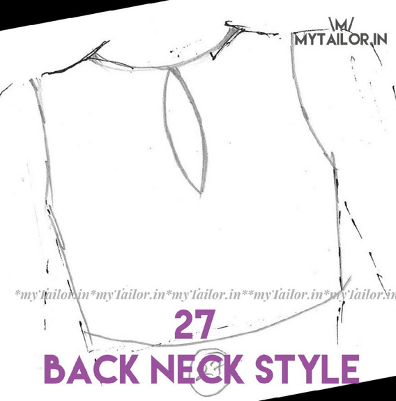 Back Neck Style 27