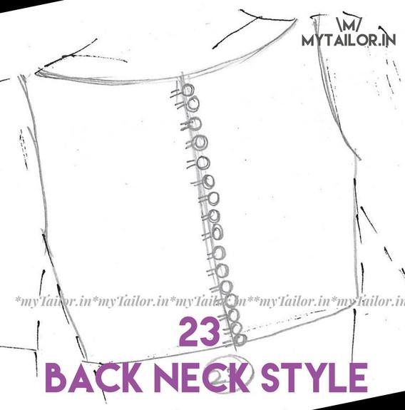 Back Neck Style 23