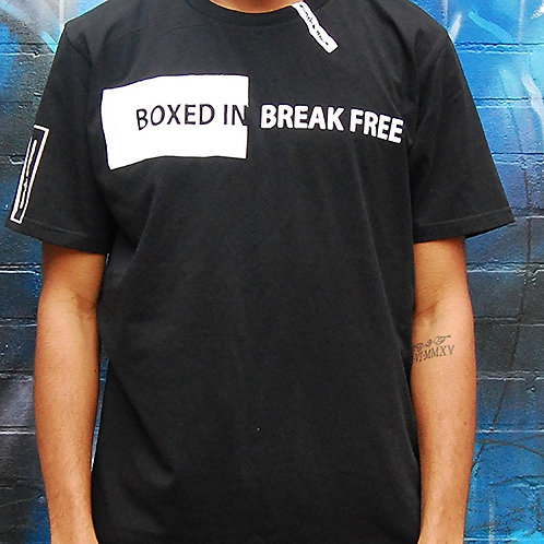 "Purplepeppa "" Boxed In Break Free"" T Shirt w"