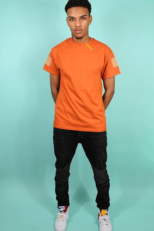 'Purplepeppa' Orange T Shirt