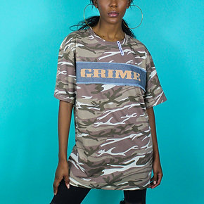 'Purplepeppa'Grime Army  Tee lady