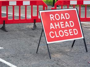 Road closure - A2 London Road