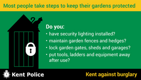 Advice from Kent Police