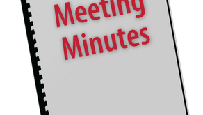 Ordinary Meeting 21st June 2021