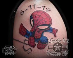 Baby Spider man