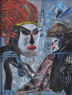 108 Masks at Moulin Rouge