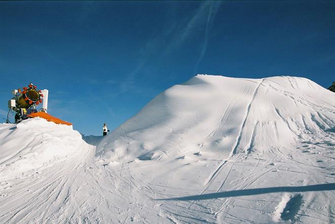 Schneien für zehntausend Schilling