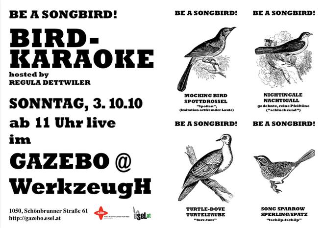 Birdkaraoke, Wien, 2010