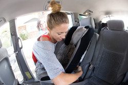 Learn how to install a car seat