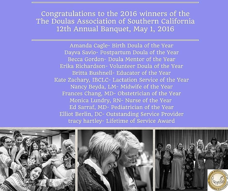 Amanda Cagle Birth Doula of the Year