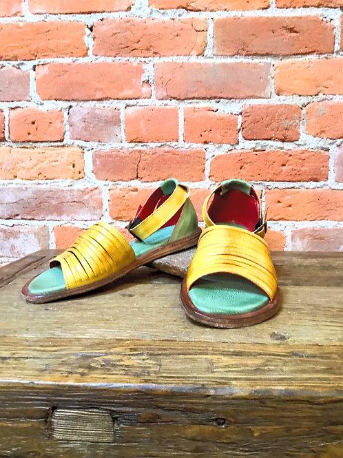 Lila Lemon/ Pistachio Rustic Bedstu Sandals